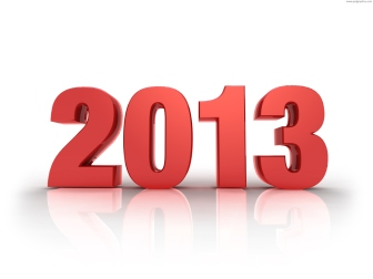 New Year 2013 red