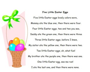 Five-Little-Easter-Eggs