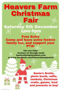 Christmas fair poster 2015