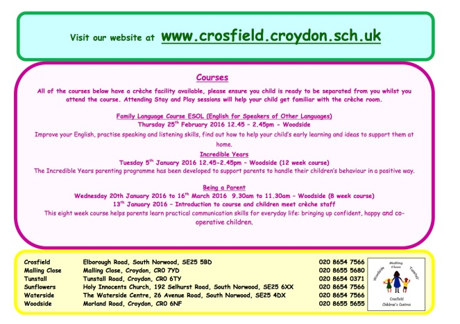 Spring timetable 22 Feb.March2