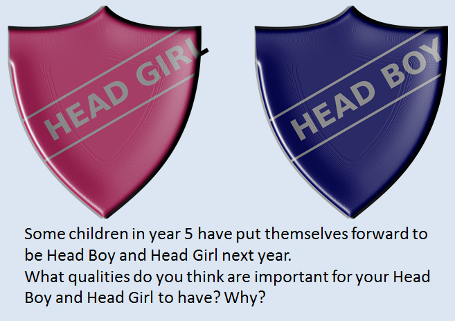 Head boy girl