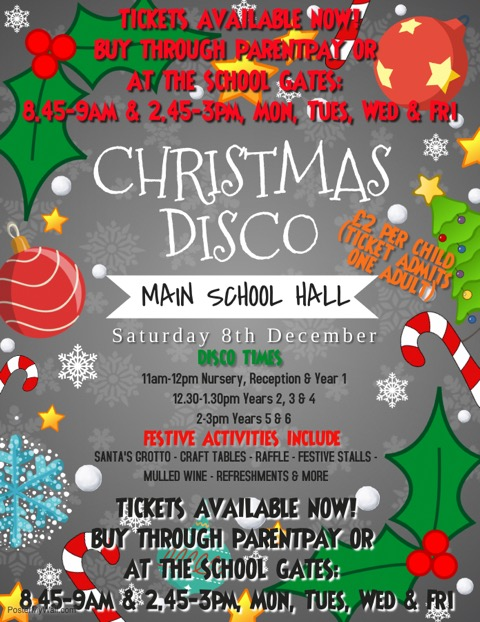 Christmas Party poster TICKETS