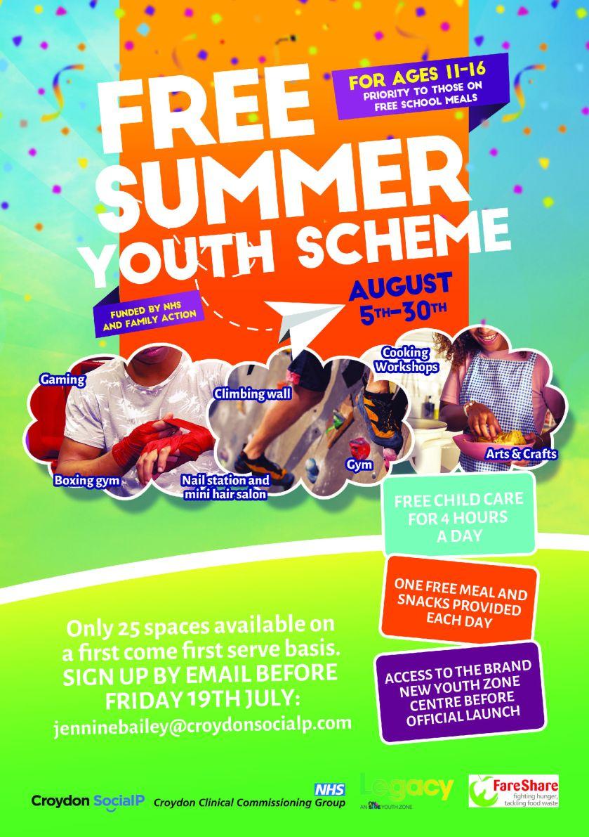 Summer Youth Scheme