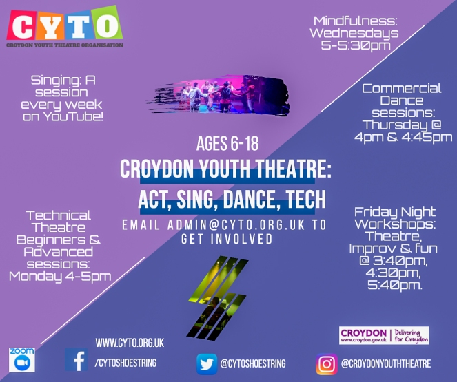 CYTO @ Home Advert